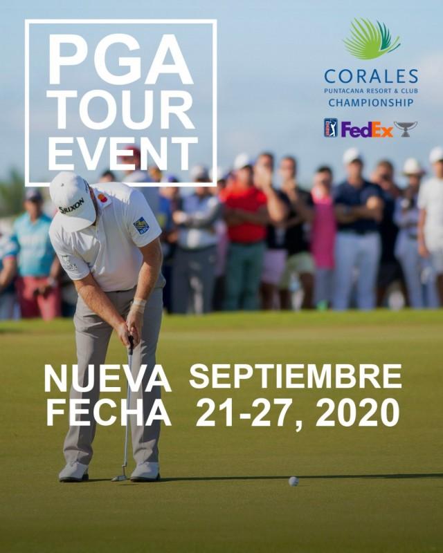 PGA TOUR retoma en septiembre el  Corales Puntacana Resort & Club Championship
