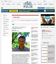 Travel Pulse interviews Environmental Director Jake Kheel on Puntacana Resort & Club's leadership in Sustainable Tourism and Development