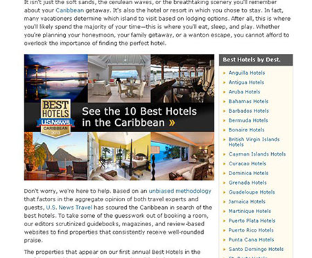 US News Best Hotels